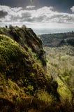 Πράσινος απότομος βράχος Στοκ Εικόνα