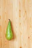 πράσινος αχλάδι Στοκ εικόνα με δικαίωμα ελεύθερης χρήσης