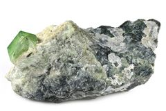 Πράσινος γρανάτης στοκ φωτογραφίες