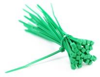 Πράσινος δεσμός φερμουάρ στοκ φωτογραφίες