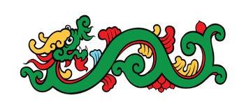 Πράσινος δράκος ελεύθερη απεικόνιση δικαιώματος