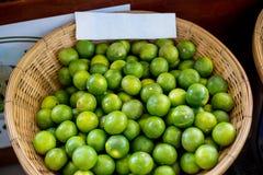 Πράσινος-λεμόνια Στοκ Εικόνα