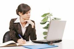 πράσινος εργαζόμενος γραφείων ανασκόπησης στοκ φωτογραφία με δικαίωμα ελεύθερης χρήσης