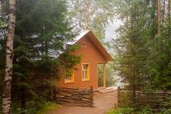 Πράσινος ζωτικός χώρος για την ευτυχισμένη ζωή Στοκ Φωτογραφίες
