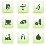 πράσινος Ιστός ετικετών 12 απεικόνιση αποθεμάτων