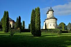 Πράσινος κήπος στο προαύλιο μοναστηριών Στοκ φωτογραφία με δικαίωμα ελεύθερης χρήσης