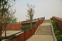 Πράσινος κήπος EXPO σε Zhengzhou Στοκ φωτογραφία με δικαίωμα ελεύθερης χρήσης
