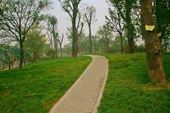 Πράσινος κήπος EXPO σε Zhengzhou Στοκ Εικόνα