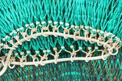πράσινος καθαρός αλιείας Στοκ Εικόνες