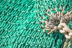 πράσινος καθαρός αλιείας Στοκ φωτογραφίες με δικαίωμα ελεύθερης χρήσης