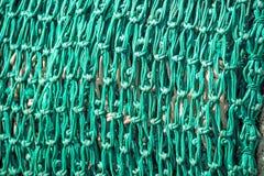 πράσινος καθαρός αλιείας Στοκ εικόνες με δικαίωμα ελεύθερης χρήσης
