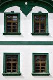 Πράσινος και άσπρος Στοκ Εικόνες