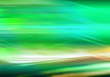 πράσινος κυματιστός ανασ Στοκ Εικόνες