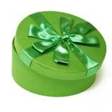 πράσινος κύκλος κιβωτίων Στοκ Εικόνα