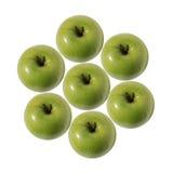 Πράσινος κύκλος της Apple Στοκ φωτογραφίες με δικαίωμα ελεύθερης χρήσης