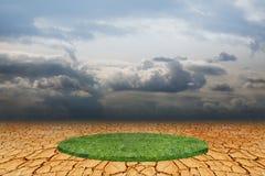 Πράσινος κύκλος Στοκ Εικόνα