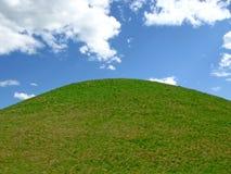 πράσινος λόφος Στοκ φωτογραφίες με δικαίωμα ελεύθερης χρήσης