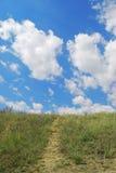 πράσινος λόφος Στοκ Φωτογραφίες