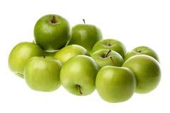 πράσινος μήλων που απομονώνεται Στοκ Φωτογραφία