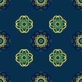 Πράσινος-μπλε-κίτρινο υπόβαθρο Στοκ φωτογραφία με δικαίωμα ελεύθερης χρήσης