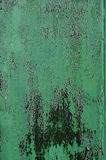 Πράσινος ξύλινος τοίχος grunge Στοκ Εικόνα