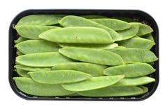Πράσινος λοβός φασολιών Στοκ Φωτογραφία