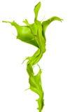 Πράσινος παφλασμός στοκ εικόνες με δικαίωμα ελεύθερης χρήσης