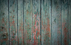 Πράσινος παλαιός ξύλινος χρώματος στοκ εικόνα