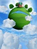 πράσινος πλανήτης Στοκ Φωτογραφίες