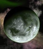 πράσινος πλανήτης Στοκ εικόνες με δικαίωμα ελεύθερης χρήσης