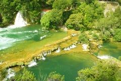 πράσινος ποταμός στοκ εικόνα