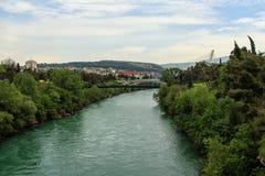 πράσινος ποταμός Στοκ φωτογραφίες με δικαίωμα ελεύθερης χρήσης