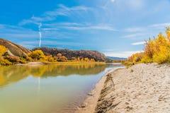 πράσινος ποταμός Utah Στοκ Εικόνα