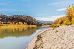 πράσινος ποταμός Utah Στοκ φωτογραφίες με δικαίωμα ελεύθερης χρήσης