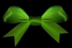 Πράσινος που απομονώνεται σε ένα μαύρο υπόβαθρο Στοκ εικόνα με δικαίωμα ελεύθερης χρήσης