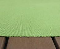 Πράσινος πυκνός ιστός σύστασης Στοκ Εικόνες