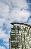 Πράσινος πύργος γυαλιού στο Βανκούβερ Στοκ Εικόνες