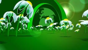 Πράσινος πλανήτης απόθεμα βίντεο