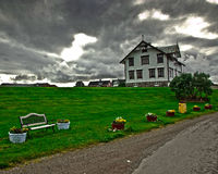 Πράσινος πλανήτης Στοκ φωτογραφία με δικαίωμα ελεύθερης χρήσης
