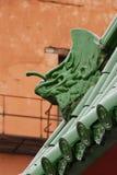 Πράσινος δράκος Στοκ φωτογραφία με δικαίωμα ελεύθερης χρήσης