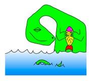 Πράσινος δράκος Στοκ φωτογραφίες με δικαίωμα ελεύθερης χρήσης