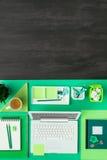 Πράσινος υπολογιστής γραφείου eco Στοκ φωτογραφία με δικαίωμα ελεύθερης χρήσης