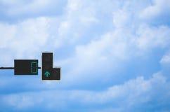 Πράσινος φωτεινός σηματοδότης Στοκ φωτογραφίες με δικαίωμα ελεύθερης χρήσης