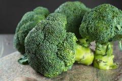 Πράσινος χειμώνας superfood - μπρόκολο μωρών Στοκ Εικόνα