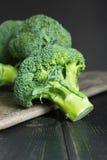 Πράσινος χειμώνας superfood - μπρόκολο μωρών Στοκ Εικόνες
