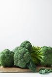 Πράσινος χειμώνας superfood - μπρόκολο μωρών Στοκ Φωτογραφία