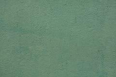 Πράσινος χρωματισμένος τοίχος στόκων Στοκ Φωτογραφία