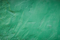 Πράσινος χρωματισμένος τοίχος Στοκ φωτογραφία με δικαίωμα ελεύθερης χρήσης