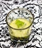 πράσινος χυμός Στοκ Εικόνα