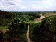 πράσινος λόφος Στοκ Εικόνα